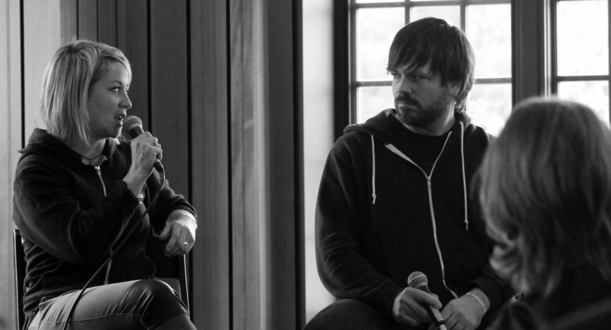 Eric Gilbert, Co-founder of Treefort Music Fest and Alysia Kraft discuss the logistics of a local music festival.